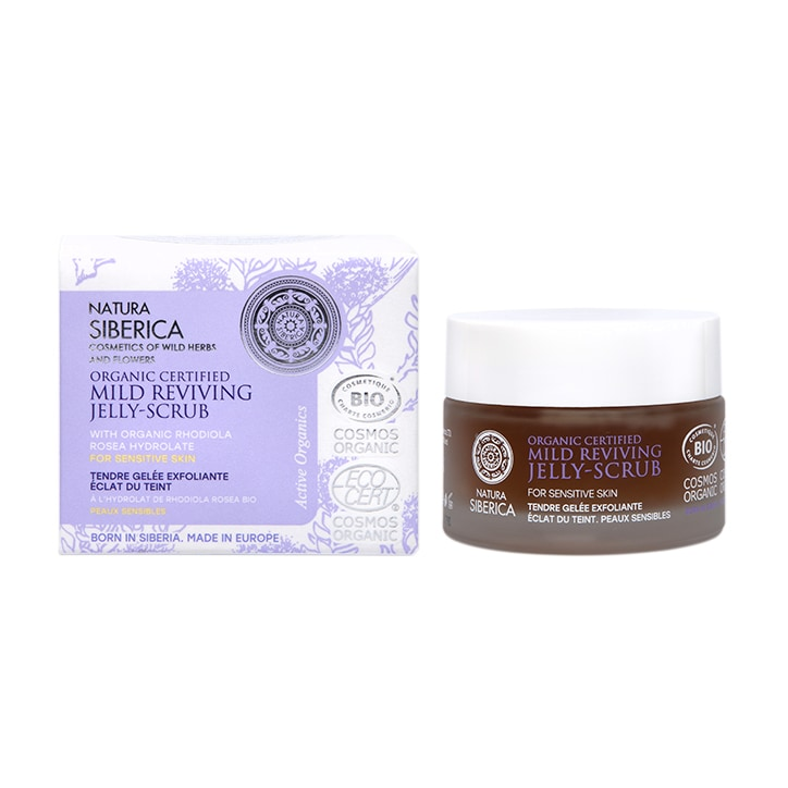Natura Siberica Mild Reviving Jelly-Scrub