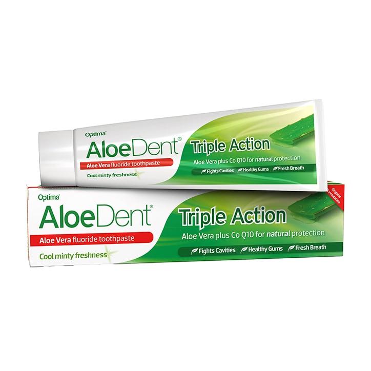 AloeDent Toothpaste with Fluoride