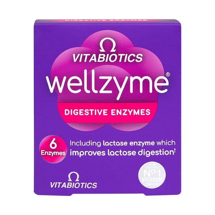 Vitabiotics Wellzyme 6 Enzyme Formula 60 Capsules