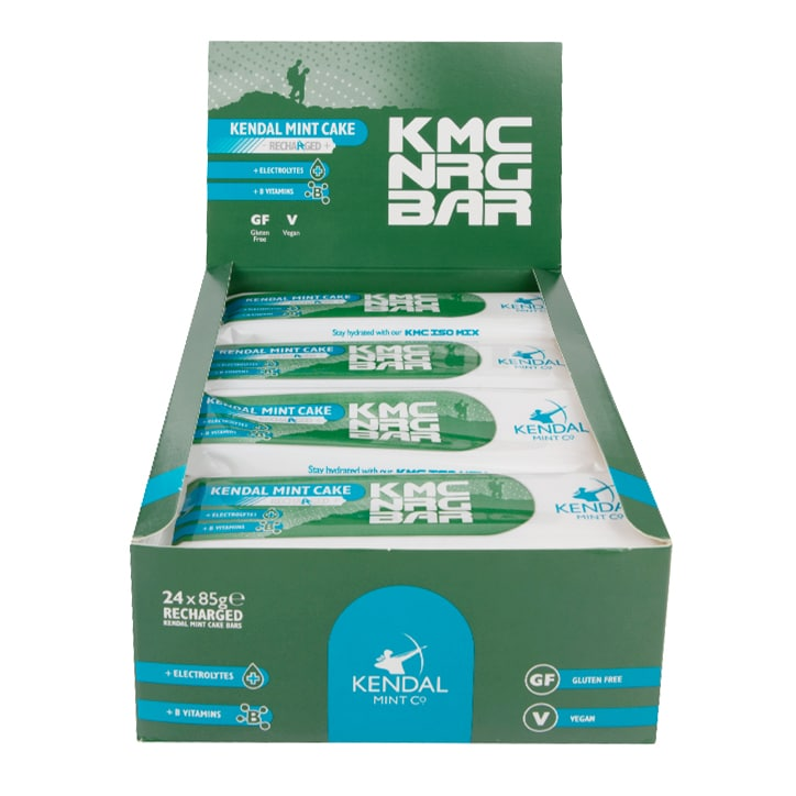 Kendal Mint Co Kendal Mint Cake Recharged 24 x 85g