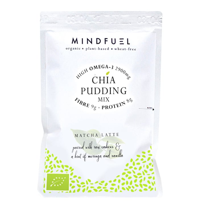 Mindfuel Chia Pudding Mix - Matcha Latte 50g