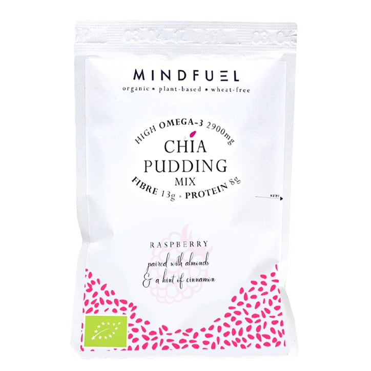 Mindfuel Chia Pudding Mix - Tart Raspberry