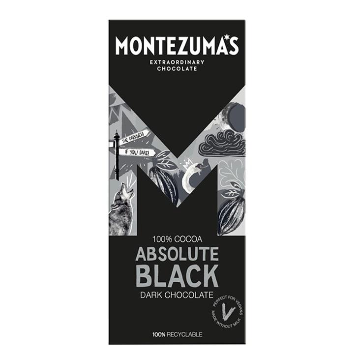 Montezuma's 100% Cocoa Absolute Black Bar 90g