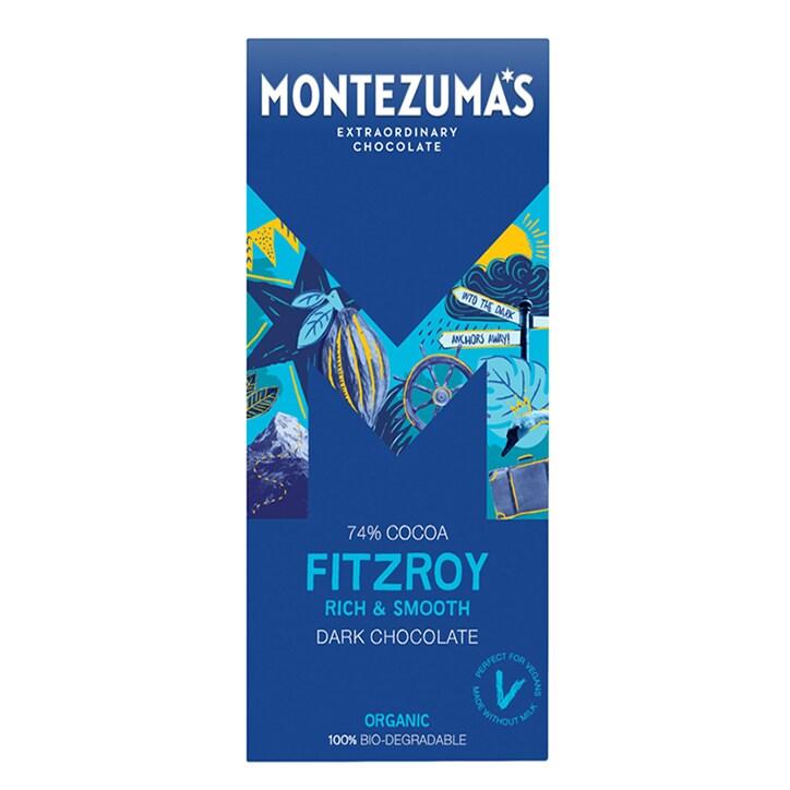 Montezuma's Fitzroy 74% Dark Bar 90g