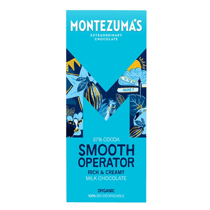 Montezuma's Smooth Operator 37% Milk Bar 90g
