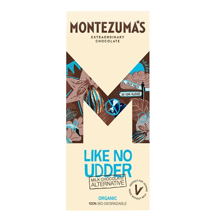 Montezuma's Like No Udder Milk Alternative Bar 90g