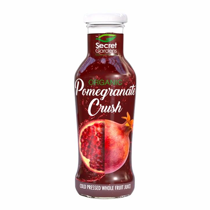 Secret Gardens Organic Pomegranate Crush 250ml