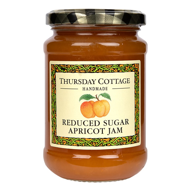 Thursday Cottage Reduced Sugar Apricot Jam 315g