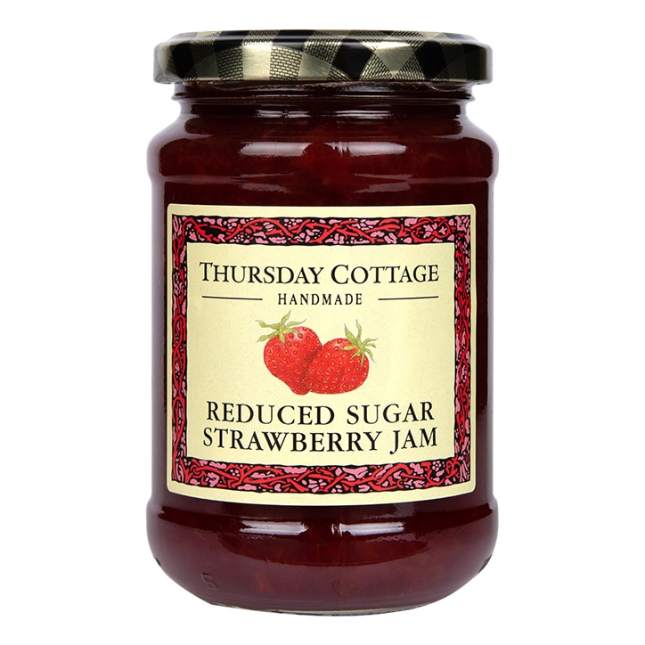 Thursday Cottage Reduced Sugar Strawberry Jam 315g