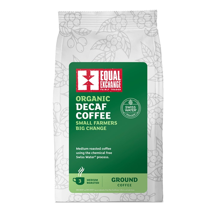 Equal Exchange Womens Coffee Roast Ground Coffee - Decaffeinated