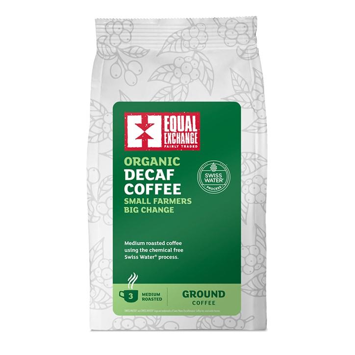 Equal Exchange Womens Coffee Roast Ground Coffee - Decaffeinated 227g