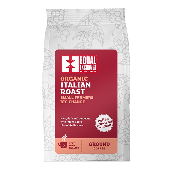 Womens Coffee Roast Ground Coffee - Italian 227g