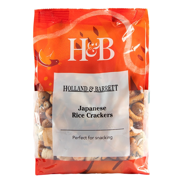 Holland & Barrett Japanese Rice Crackers 475g