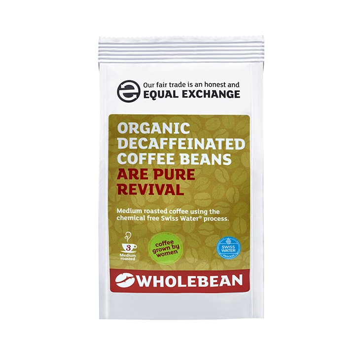 Equal Exchange Decaffeinated Coffee Beans Swiss Water