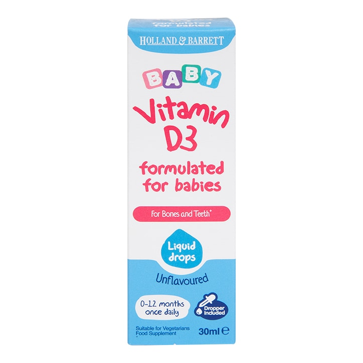 Holland & Barrett Baby Vitamin D3 Drops 30ml