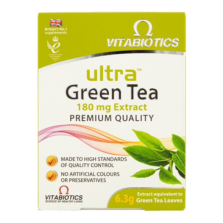 Vitabiotics Ultra Green Tea 30 Tablets