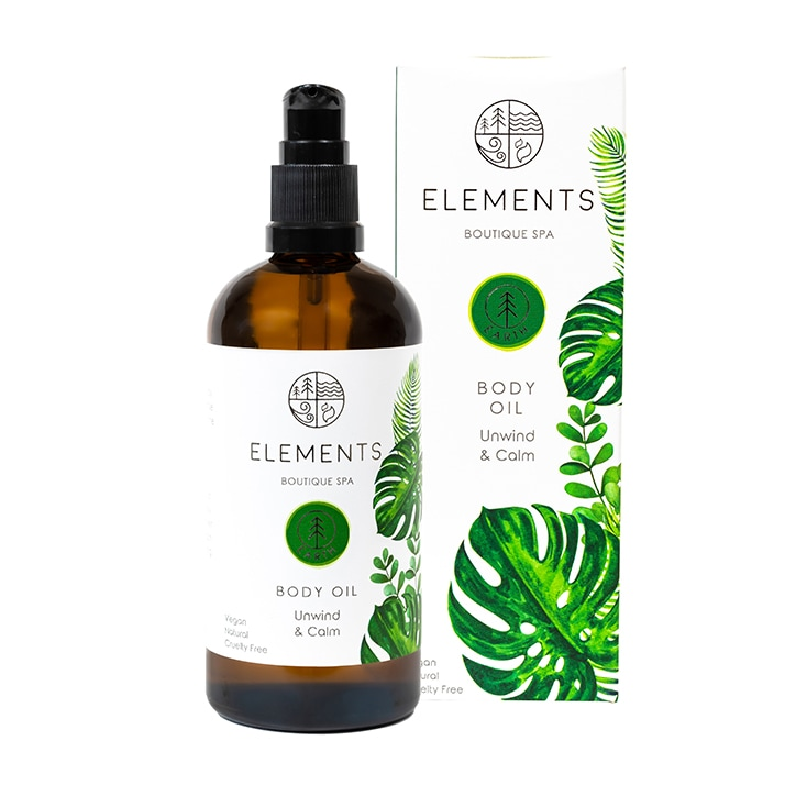 Elements Boutique Spa Massage & Body Oil Earth