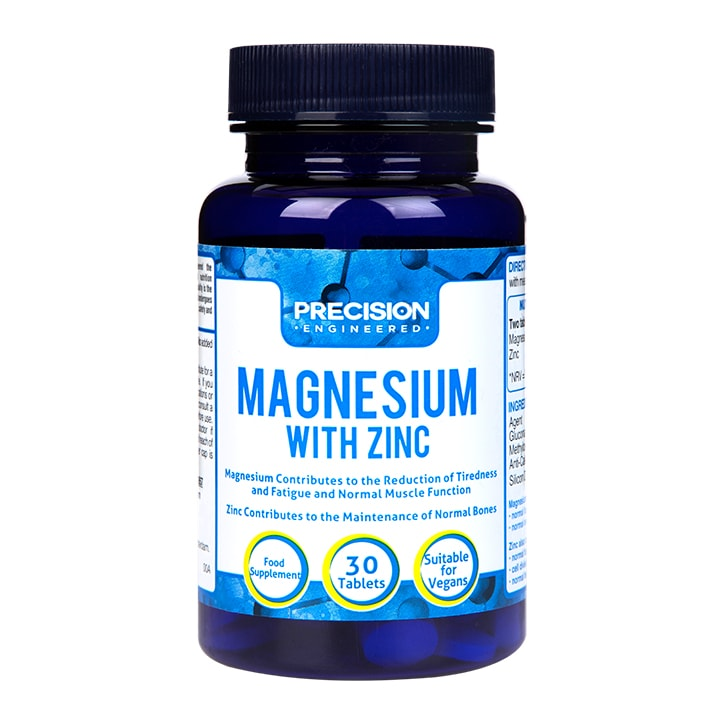 Precision Engineered Magnesium with Zinc 30 Tablets