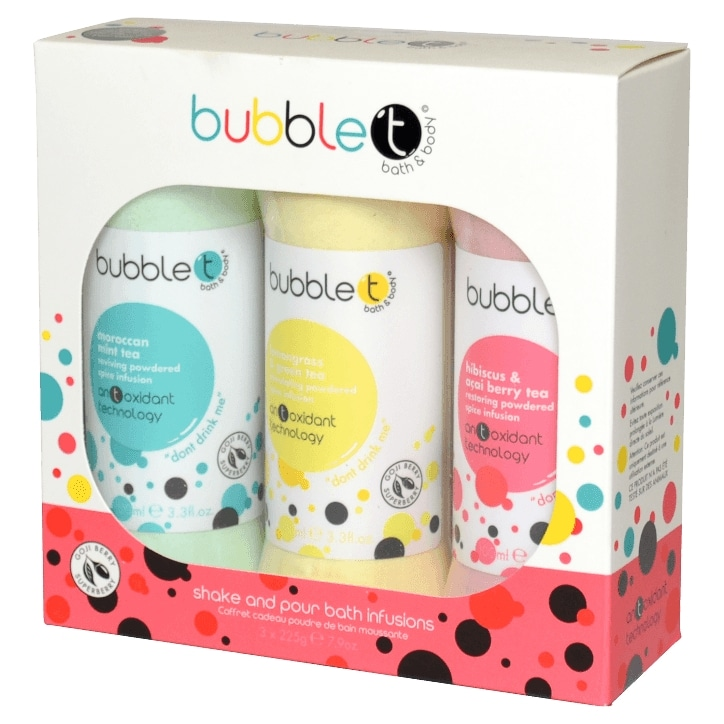 Bubble T Big Bath Spice Infusion Gift Set