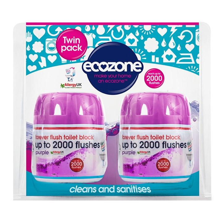 Ecozone Forever Flush 2000 - Twin Pack 180g