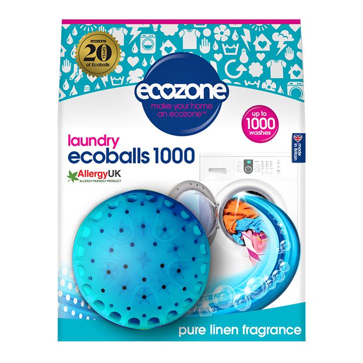 Ecozone Ecoball 1000 Wash - Pure Linen Single