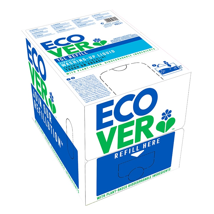 Ecover Washing Up Liquid - Chamomile & Clementine 15Ltr