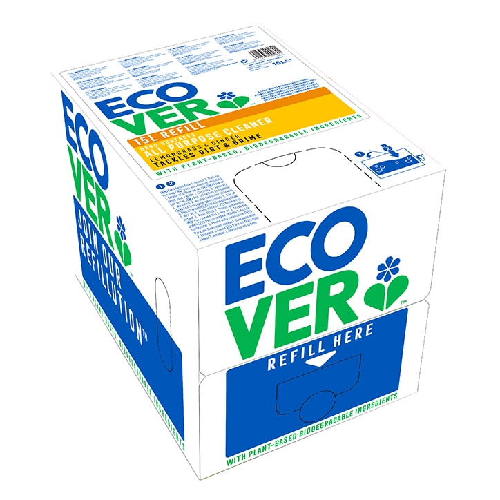 Ecover All Purpose Cleaner - Bag In A Box Refill 15Ltr