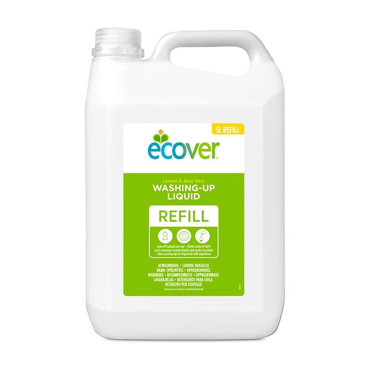 Ecover Washing Up Liquid - Lemon & Aloe 5Ltr