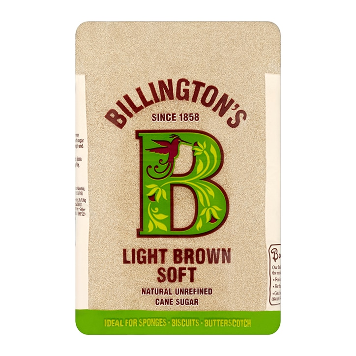 Billingtons Light Brown Soft Sugar 500g