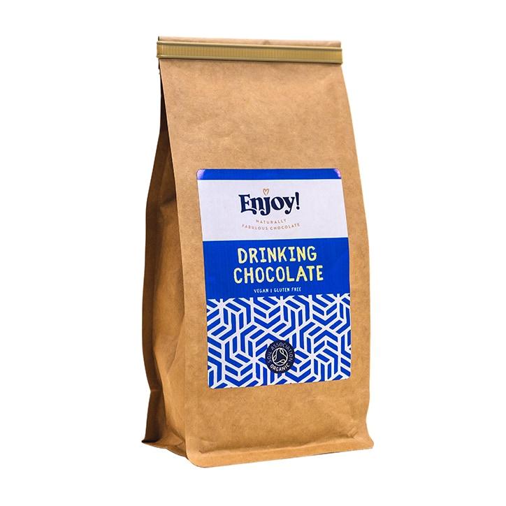 Enjoy Raw Choc Hot Cocoa Drink Powder 250g