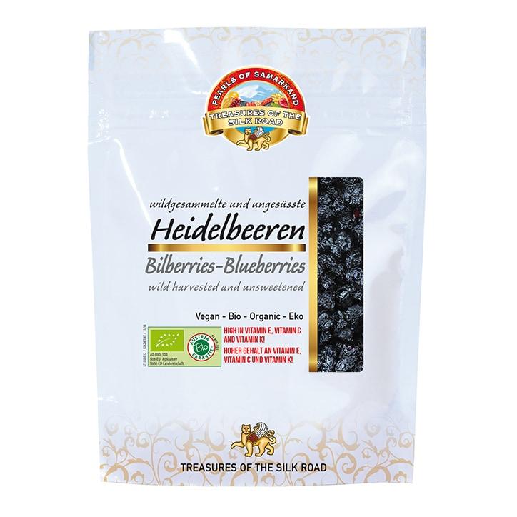 Pearls Of Samarkand Organic Wild Blueberries (Bilberries) 100g