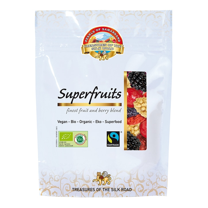 Pearls Of Samarkand Organic Super Fruits 100g