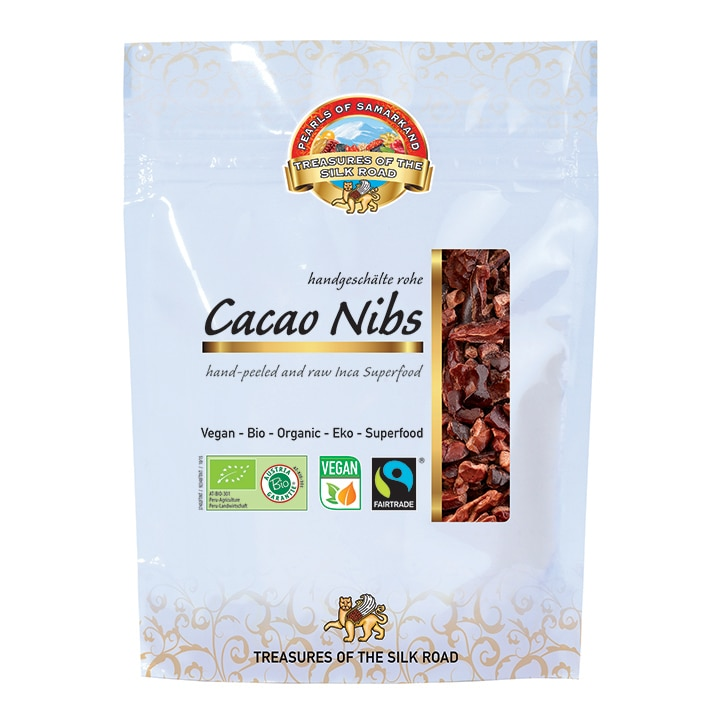 Pearls Of Samarkand Cacao Beans - Organic 100g