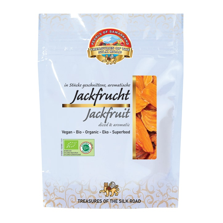 Pearls Of Samarkand Organic Jackfruit 100g