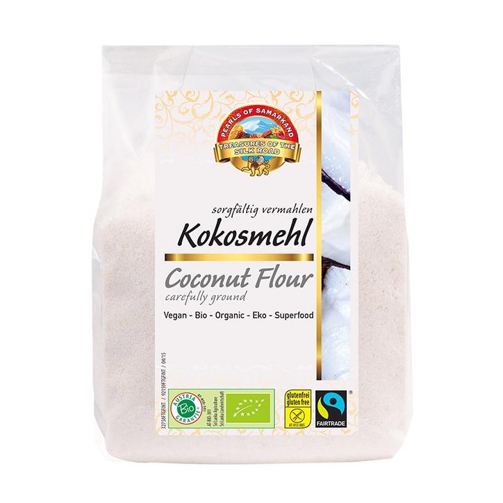 Pearls Of Samarkand Organic Fairtrade Coconut Flour 300g