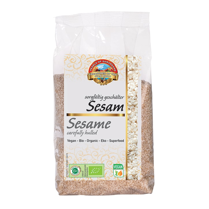 Pearls Of Samarkand Hulled Sesame Seeds - Organic 330g