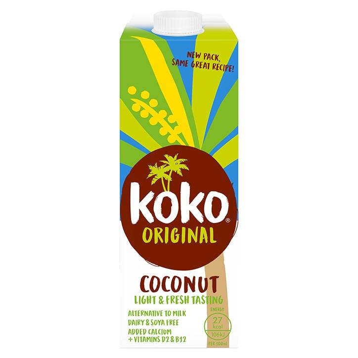 Koko Dairy Free Original Coconut Milk + Calcium 1Ltr