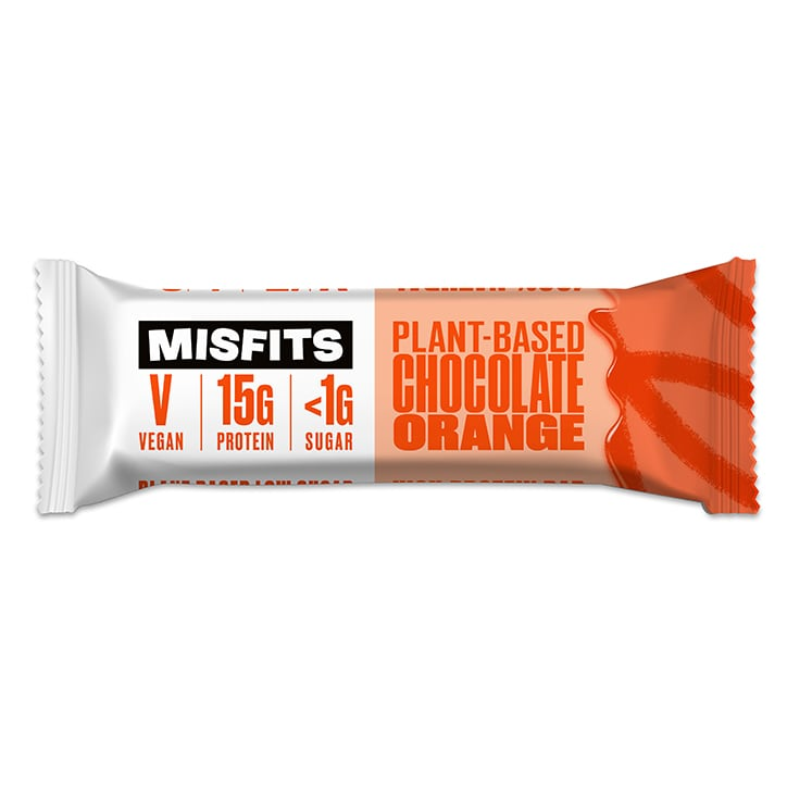 Misfits Chocolate Orange Vegan Protein Bar 45g