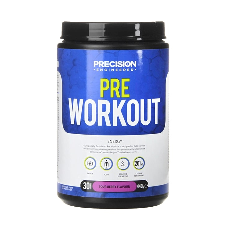 Precision Engineered Pre Workout Sour Berry 440g