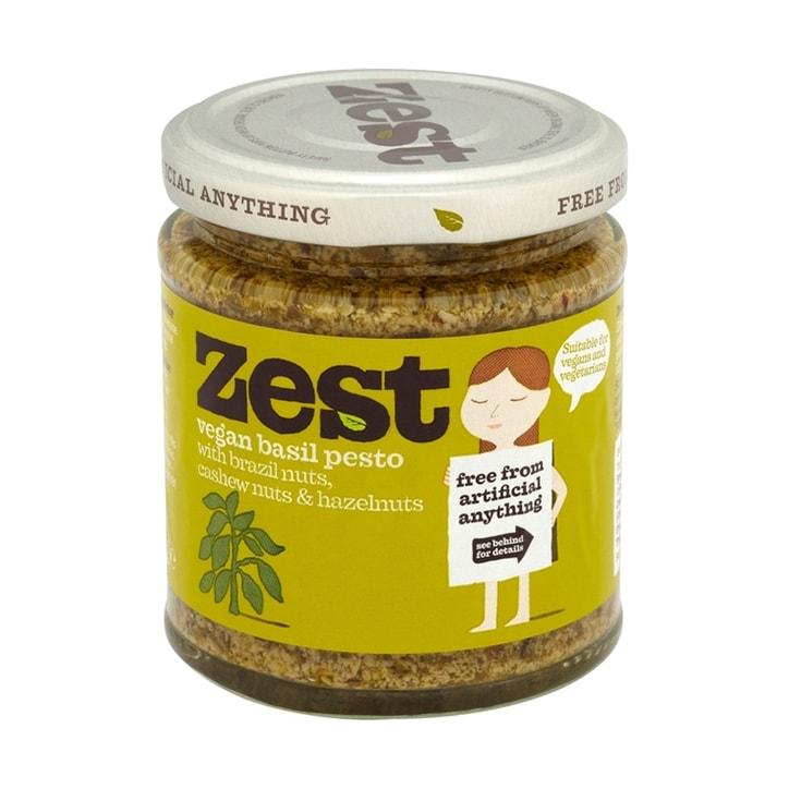 Zest Basil Pesto Suitable For Vegans 165g