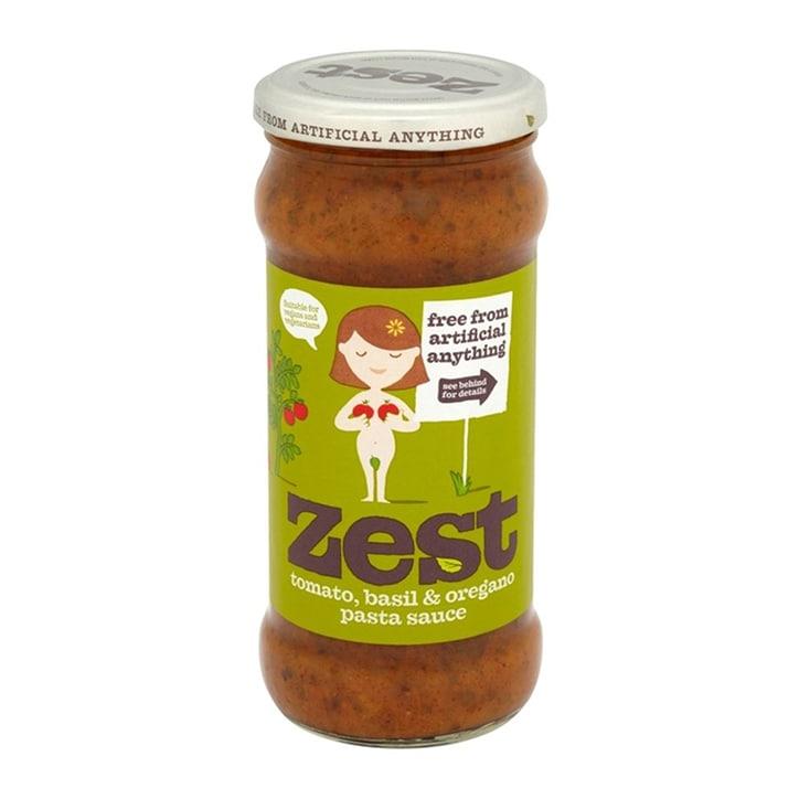 Zest Tomato Basil & Oregano Pasta Sauce 340g