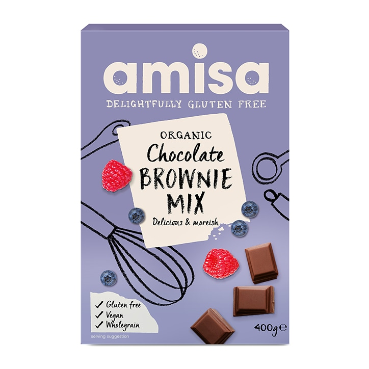Amisa Chocolate Brownie Mix - Gluten Free 400g