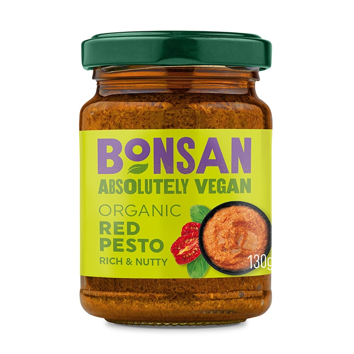 Bonsan Vegan Red Pesto Organic 130g