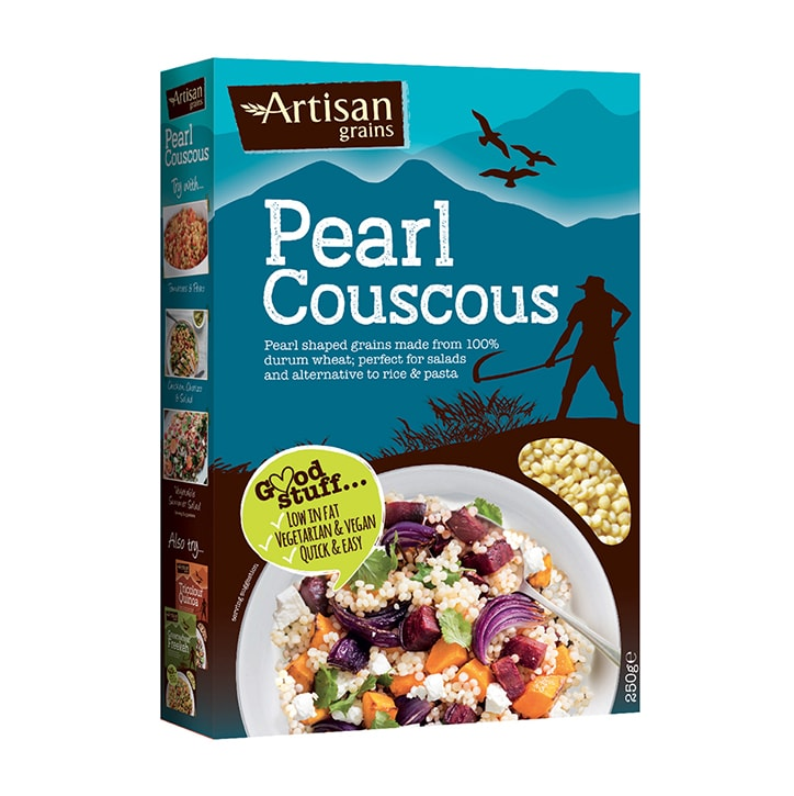 Artisan Grains Pearl Couscous 250g Holland Barrett