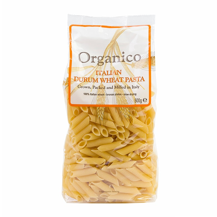 Organico Penne White Quills 500g