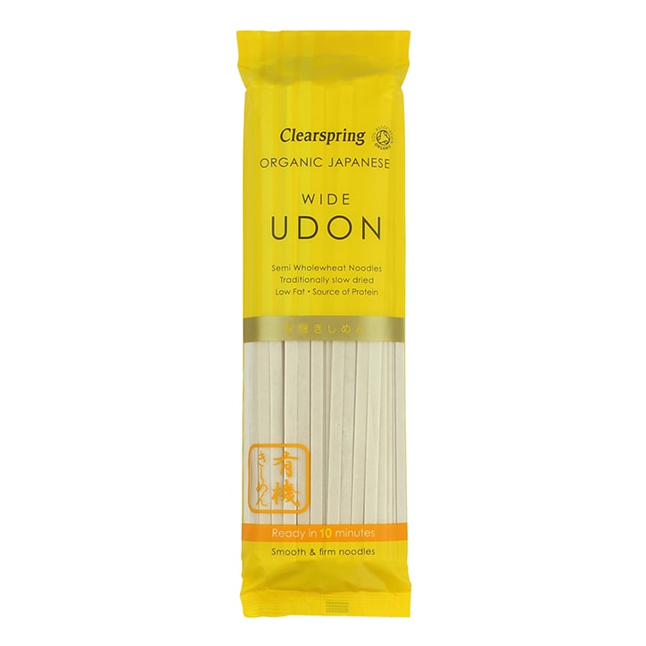 Clearspring Japanese Wide Udon Noodles 200g