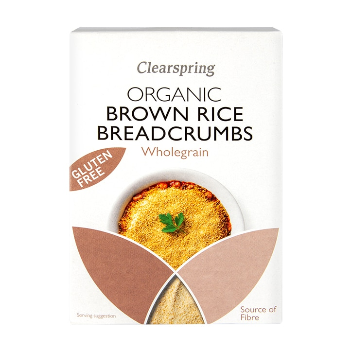 Clearspring Brown Rice Breadcrumbs - Organic & Gluten Free 250g