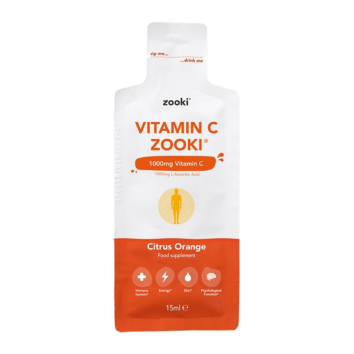 YourZooki Liposomal Vitamin C 1000mg 15ml Sachet