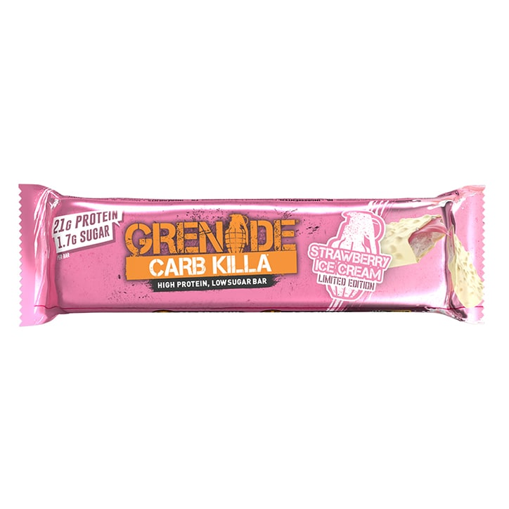 Grenade Carb Killa Protein Bar Strawberry Ice Cream