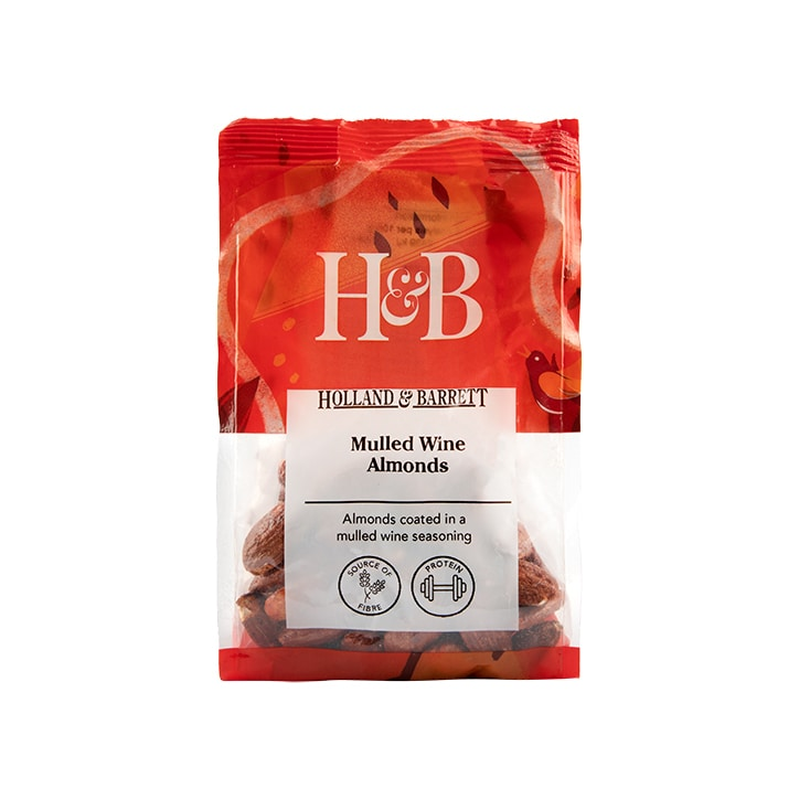 Holland & Barrett Mulled Wine Almonds 150g